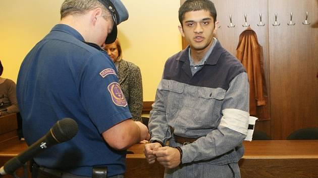 Pavel Hušo u soudu.