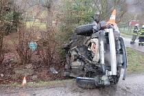 Nehoda ve Štikově.