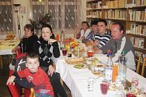 Z oslavy pořádané ostruženským Klubem seniorů.