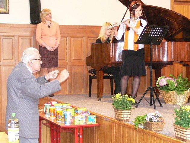 Soutěž Novopacký slavíček se letos konala již po dvanácté.