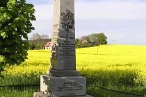 Pomník války prusko - rakouské.