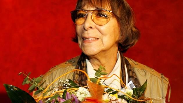 Hana Hegerová.