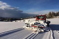 Lomnická lyžařská magistrála.