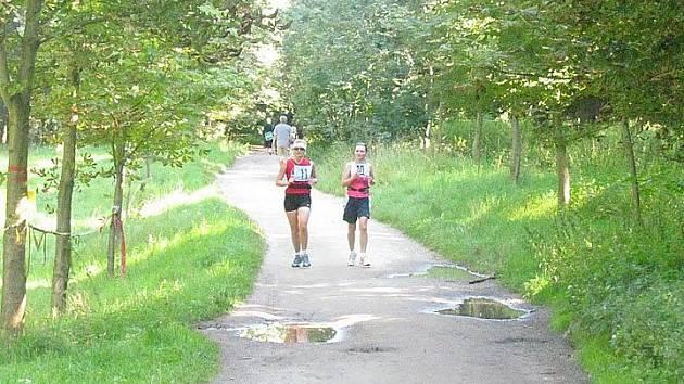Z 1. ročníku Maratonu Českým rájem.