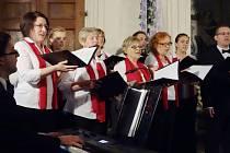 Koncert sboru Foerester v Křinci.