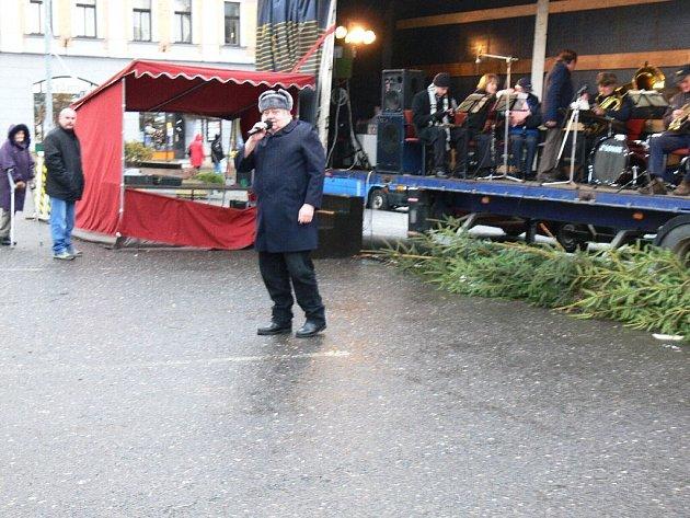 Z koncertu Hořické dechovky.