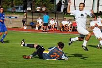 Novopacký brankář Libor Kanaval (21) odvedl v obou domácích zápasech stoprocentní výkon.