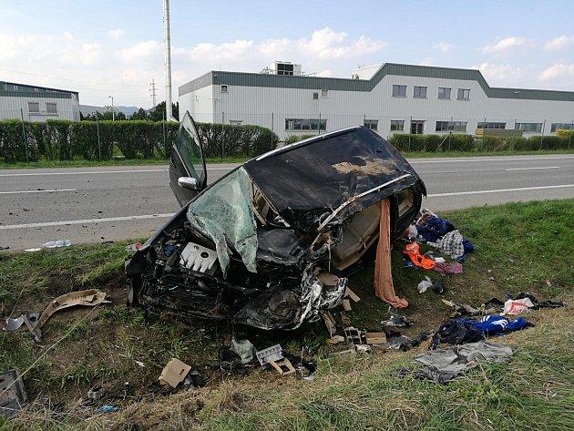 Tragická nehoda na obchvatu Jičína
