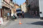 V rámci Evropského týdne mobility Jičínští diskutovali o provozu v Palackého ulici a její budoucí podobě.