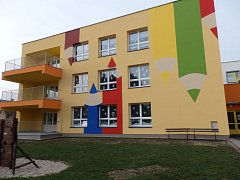 Mateřská škola v Kopidlně po rekonstrukci.