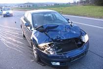 Dopravní nehoda u Sobotky.