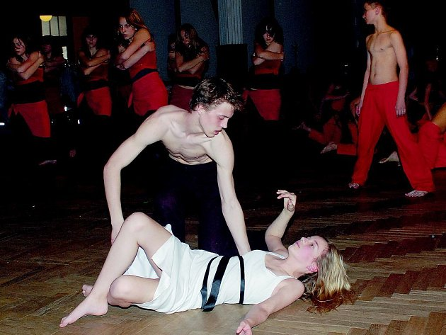 Ve velkém sále jičínského Masarykova divadla vystoupil pražský soubor Steffi Dance.