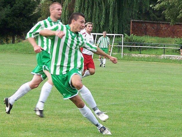 Fotbalista Ladislav Cihi ze Sobotky.