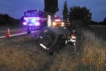 Dopravní nehoda u Holovous.
