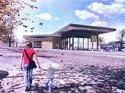 Plán nového terminálu v Nové Pace.