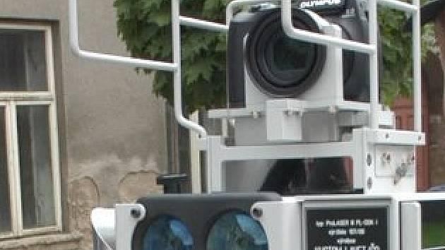 Ilustrační foto - radar k měření rychlosti.