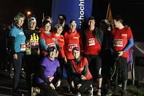 První ročník nočního běhu si užili běžci i diváci.