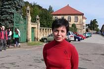 Starostka Holovous Martina Berdychová.