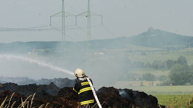 Bleskový zásah libuňských hasičů.