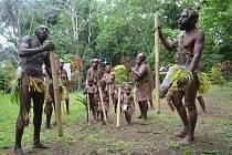 Domorodci na ostrově Malakula.