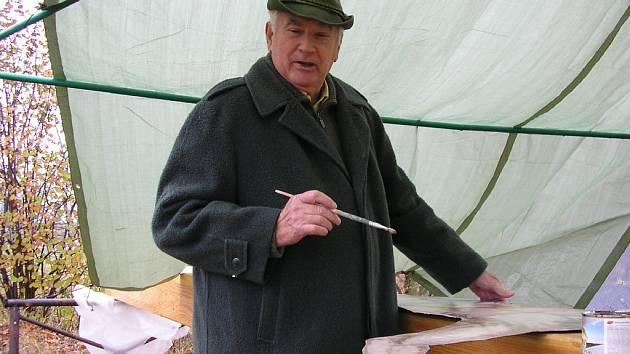 Malíř Josef Schorm.