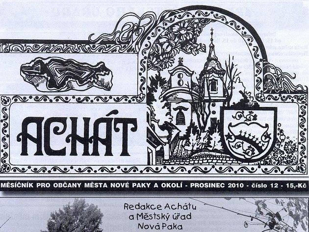 Časopis Achát.