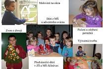Předvánoční dění v jičíněveské škole.