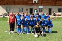 Kopidlenští fotbalisté.