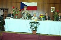 Z výroční schůze KPV.