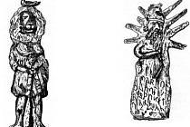 RETRANŠTÍ BŮŽKOVÉ Radegast a Perun – ten se o tři staletí později stal předobrazem prachovského Pelíška.