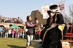 Otevření hradu Pecka s Kryštofem Harantem.