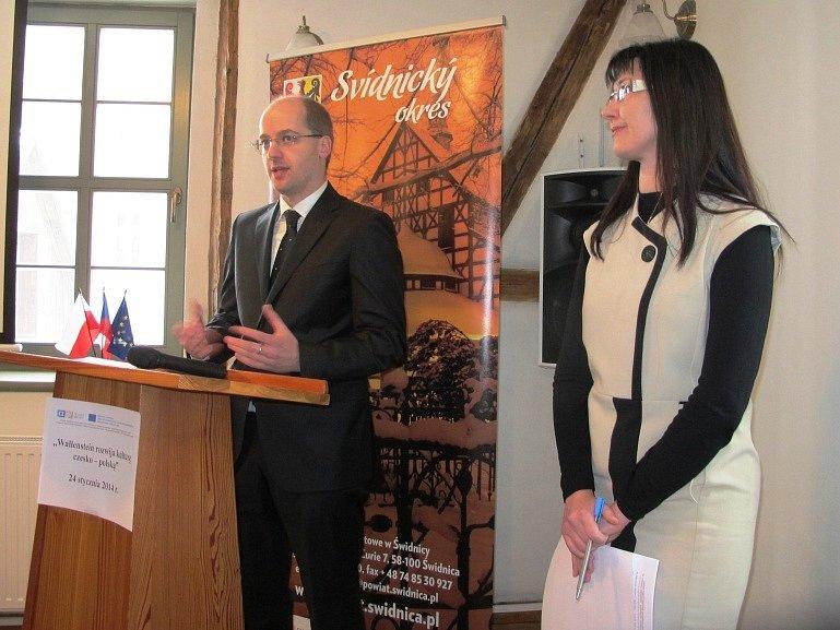Jičínská delegace ve Swidnici.
