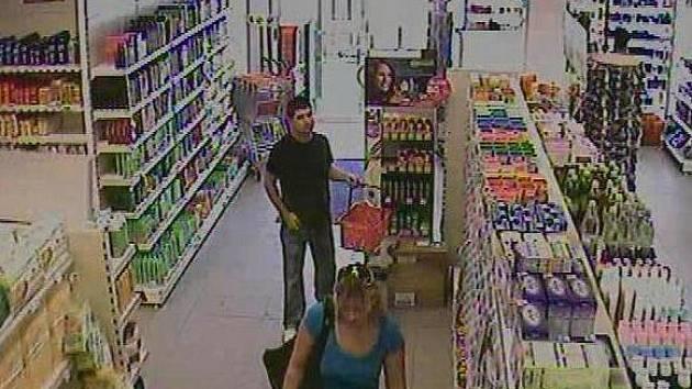 Osoby podezřelé z krádeže.