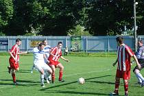 Fotbalové utkání Kopidlno - Sobotka.