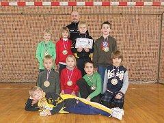 Po čtrnácti dnech skončila přípravka SK Hošek Robousy opět druhá. Tentokrát v Lázních Bělohradě.
