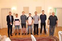 V Hořicích byli oceněni nejúspěšnější sportovci města.