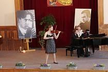 Z houslové soutěže Muzika Paka.