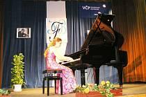 Z koncertu Kristiny Stepasjukové.