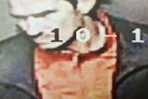Muž na fotografii by mohl pomoci policistům s prošetřením krádeže na zimním stadionu.