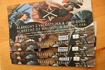 Vstupenky na výstavu Albrecht z Valdštejna a jeho doba.