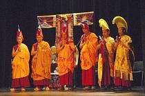Taneční rituály tibetských mnichů.