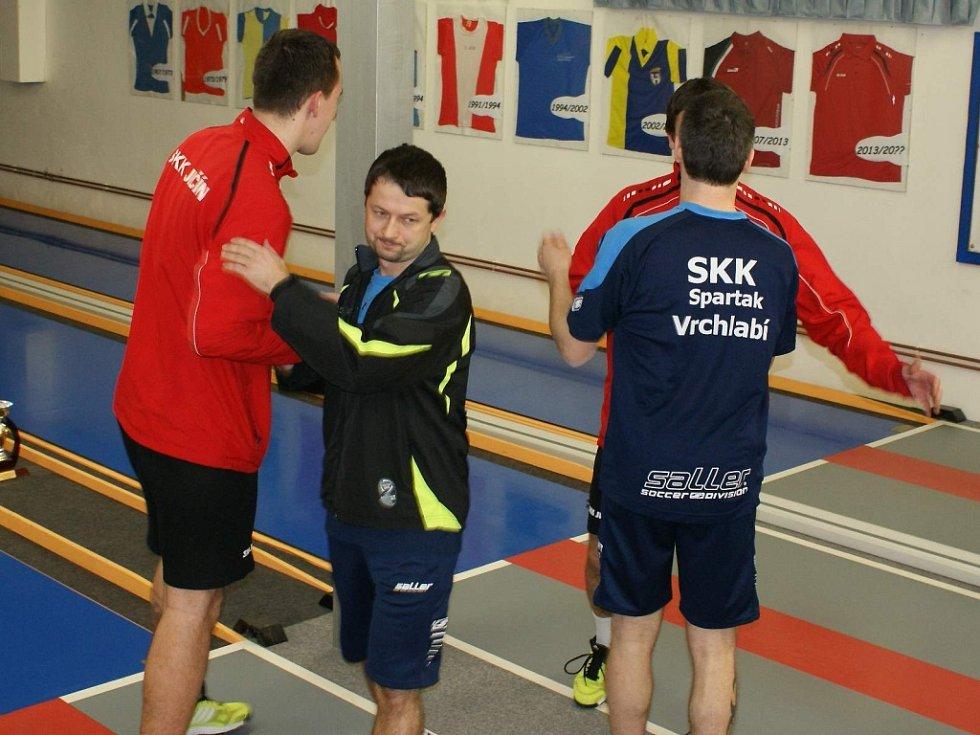 Kuželkářské utkání SKK Jičín – SKK Vrchlabí.