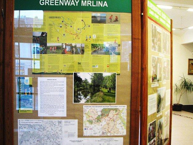 Výstava Greenway Mrlina.