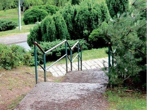 Novopacký park.