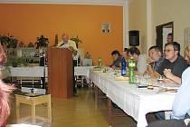 Ze zasedání novopackých zastupitelů.