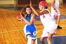 Mladí basketbalisté.