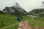 Výprava do Dolomit.