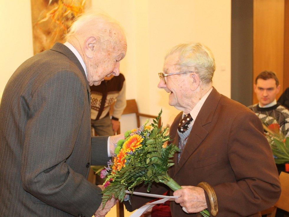 Miroslav Holan z Lomnice nad Popelkou oslavil sto let.