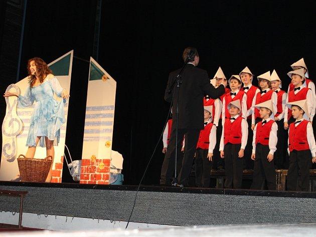 Vystoupení Michaely Novozámské v Jičíně.