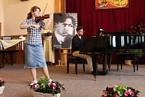 Z novopacké houslové soutěže Mistra Josefa Muziky.